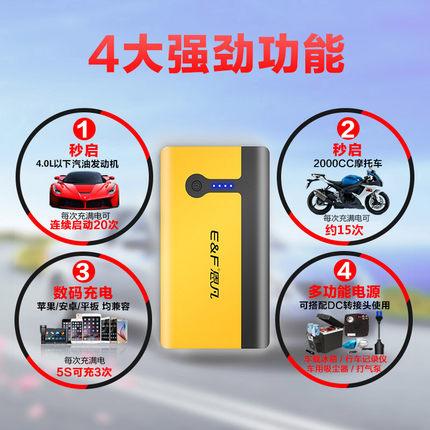汽车应急启动电源价格你了解吗?